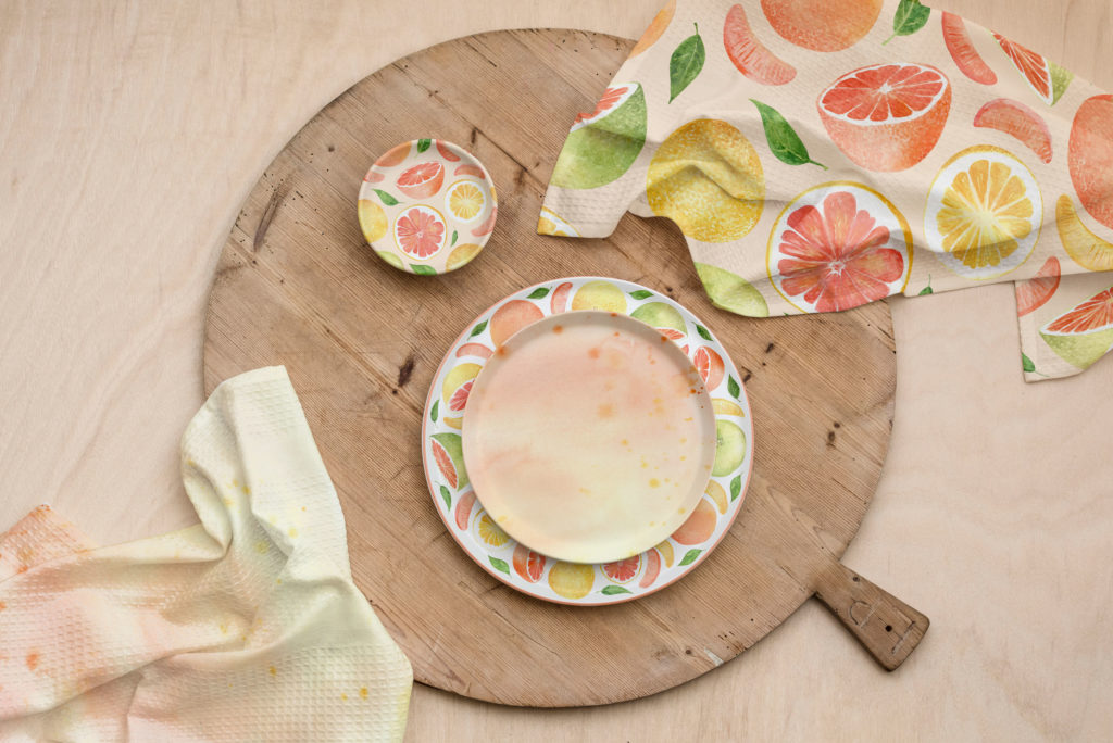 Grapefruit Pattern Collection