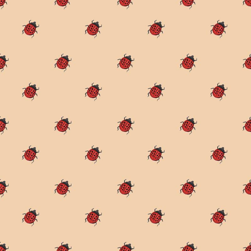 Lady Bug Pattern © Cynthia Oswald