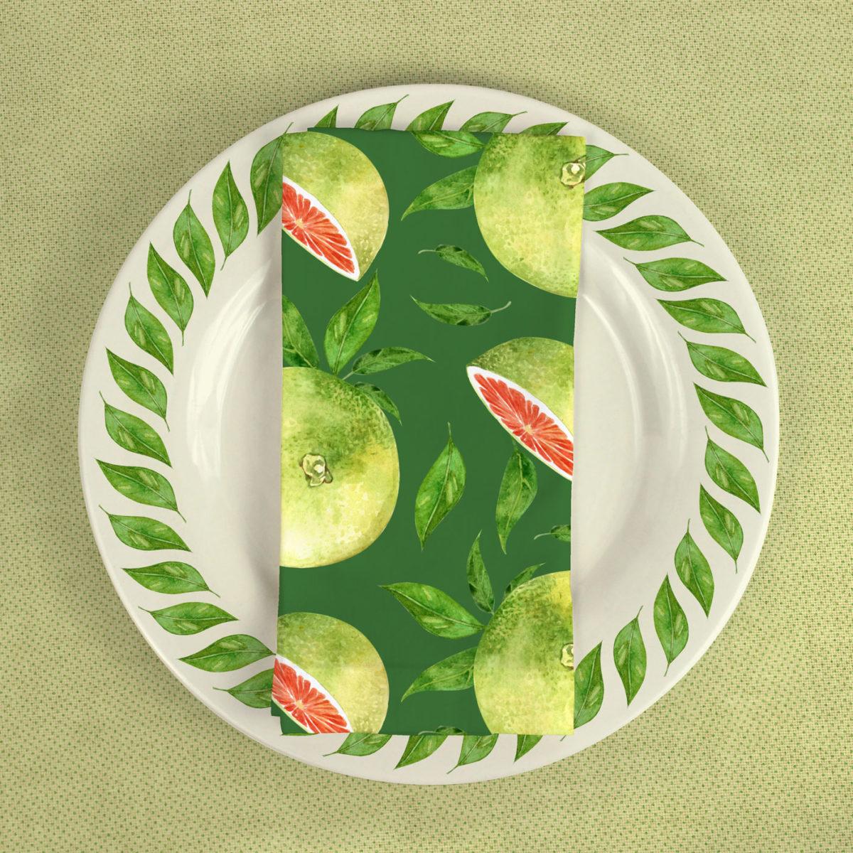Grapefruit Pattern Collection Cynthia Oswald