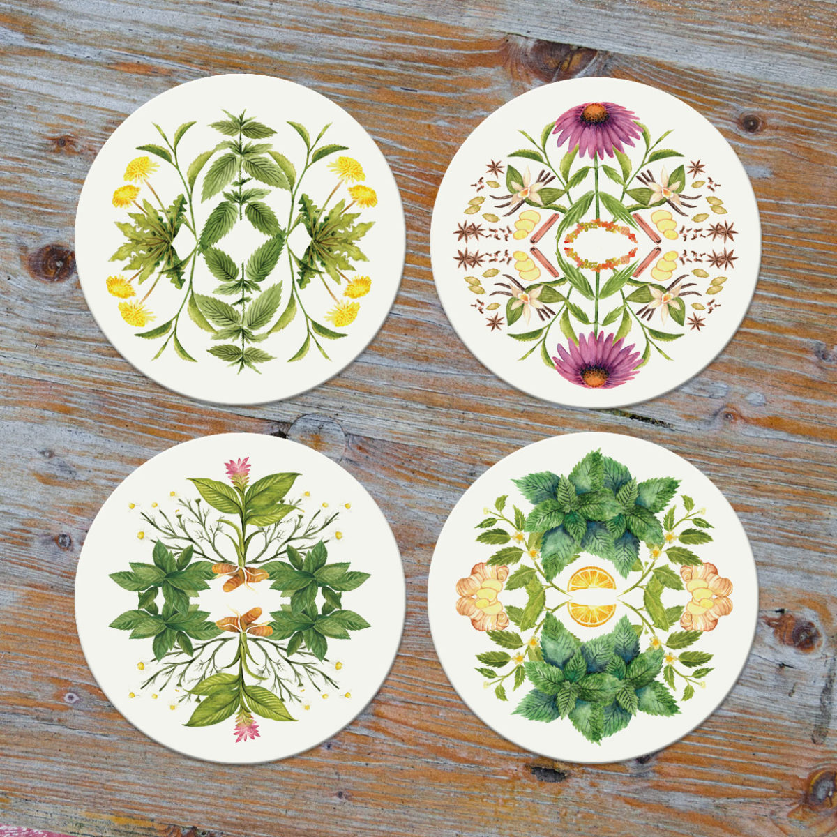 Botanical Coasters