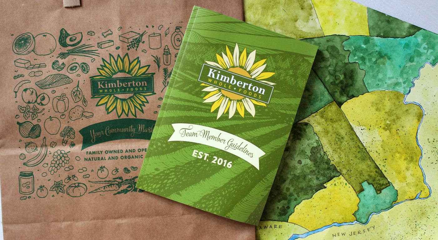 Kimberton Whole Food's Branding