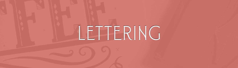 Lettering + Logotype