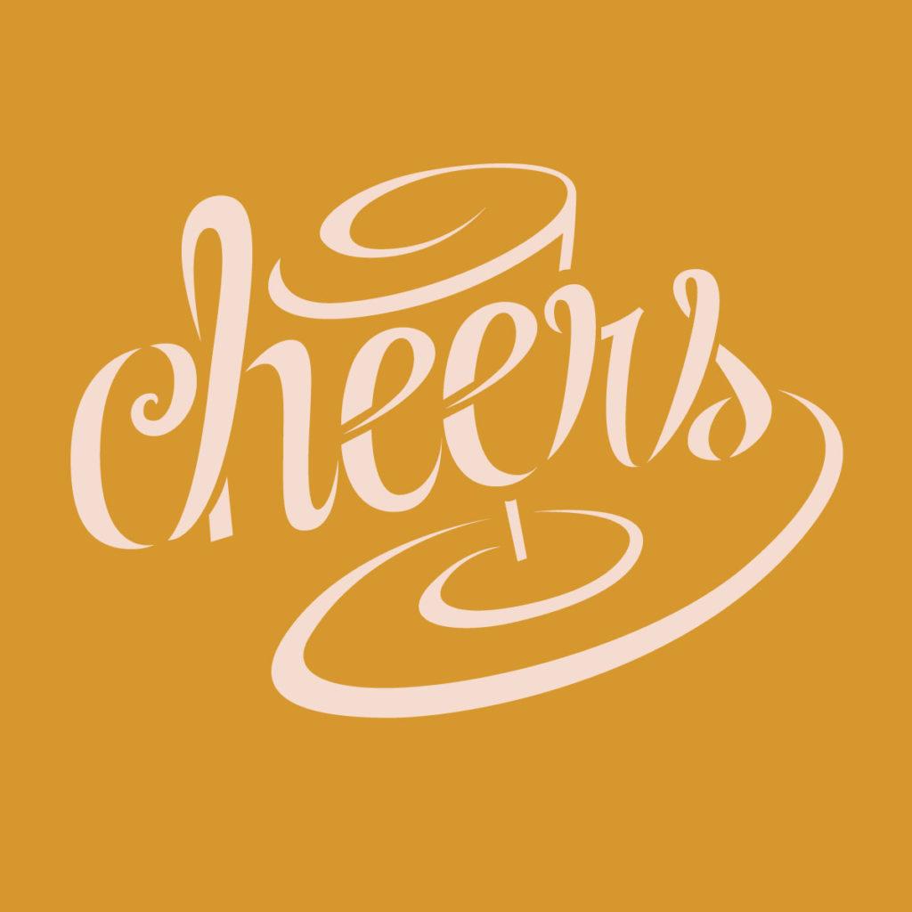 Cheers Stencil