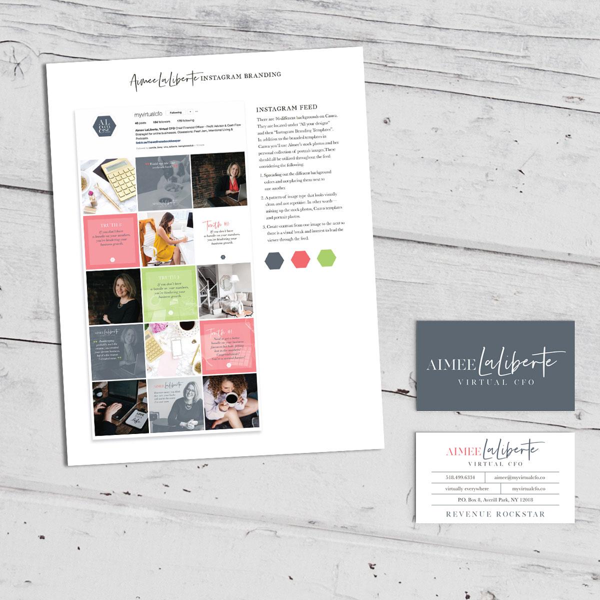 Aimee LaLiberte Social Stye Guide