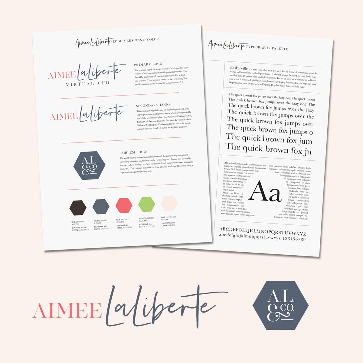 Aimee LaLiberte, Virtual CFO Style Guide