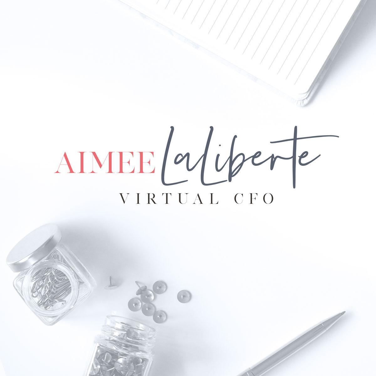 Aimee LaLiberte Logo Design