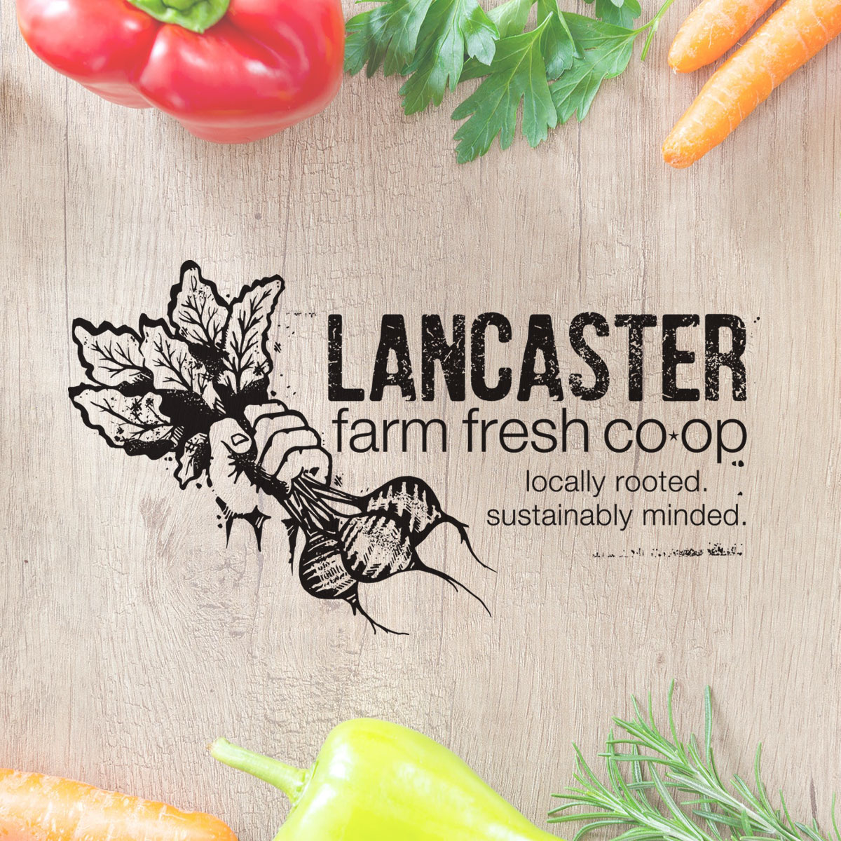 Lancaster Farm Fresh Logo