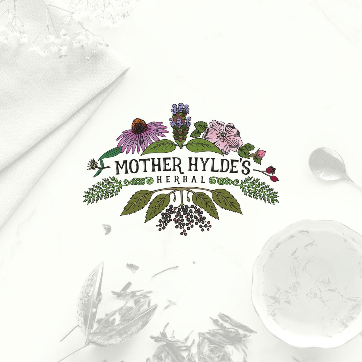 Mother Hylde's Herbal Logo
