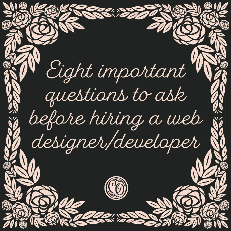 Important questions to ask your web designer