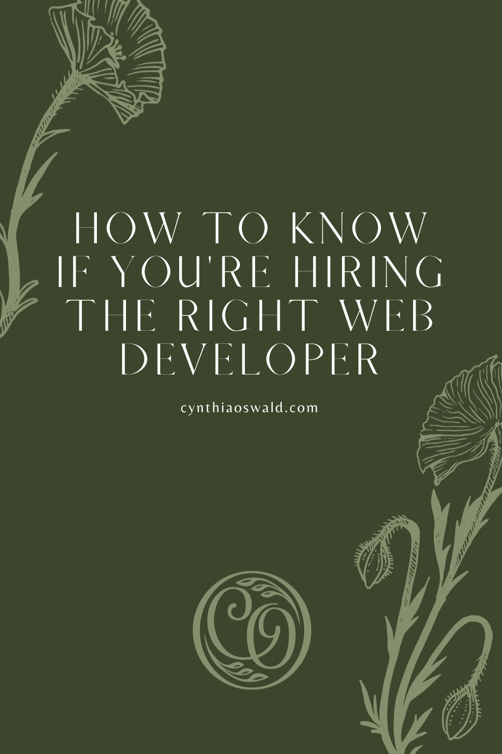How to know if you're hiring the right web developer