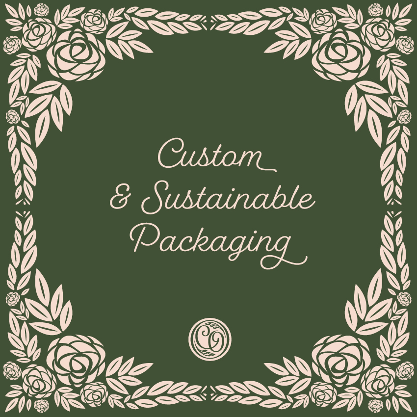 custom and sustainable packaging
